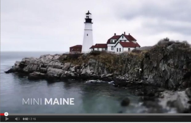 Maine video goes viral